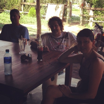 Aaron, Greg & Rivka in Guasacate